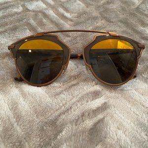 Dior So Real Split Lens Mirrored Sunglasses